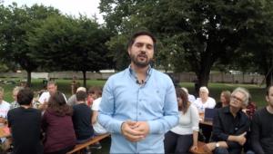 Cédric Wermuth verkündet in einem Live-Stream, dass wir bereits mehr als 5000 Unterstützende im Komitee für seinen Ständeratswahlkampf sind.