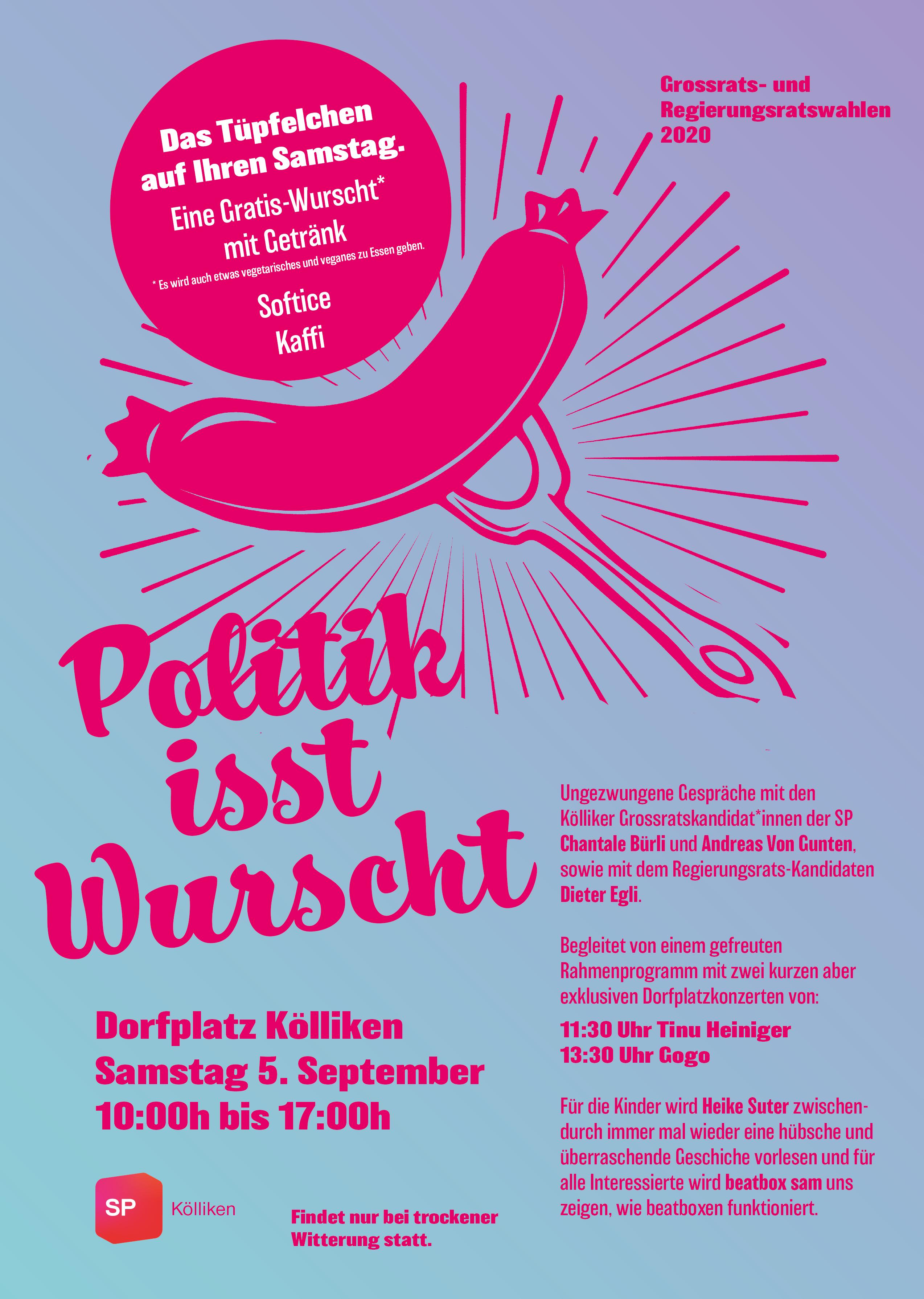 05.09.20: Politik isst Wurscht